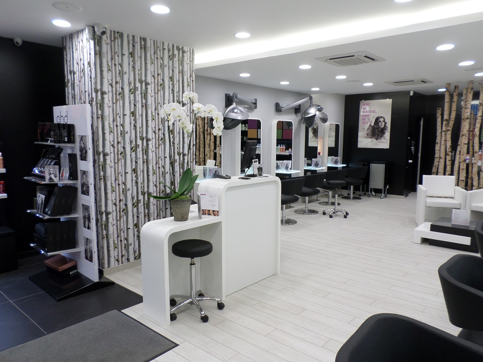 agencement salons de coiffure 53 49 44 35 72. Black Bedroom Furniture Sets. Home Design Ideas