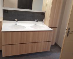 Salle de bain, Quelaines-St-Gault (53).