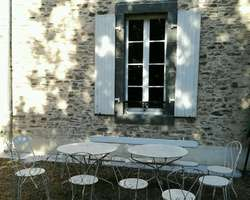 fenêtre bois XVIIIéme après, Sud Mayenne (53)