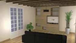 Avant projet sur logiciel 3D, Cossé-le-Vivien (53)