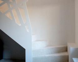 Escalier, Sud Mayenne (53). 1