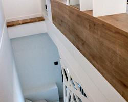 Escalier, Sud Mayenne (53). 2