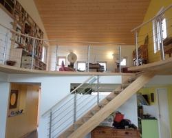 Escalier et garde de corps, Laval (53)