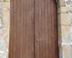 Porte d'Église en chêne (AVANT), Sud-Mayenne (53)